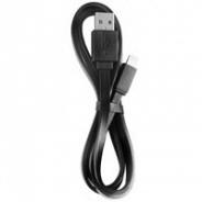 Аксессуар Apple Deppa Кабель Lightning универсальный USB 2.0 1m черный (72115)