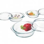 Посуда для СВЧ Simax набор кастрюль 304