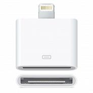 Аксессуар Apple Deppa переходник для Apple 8/30 pin, белый (72116)