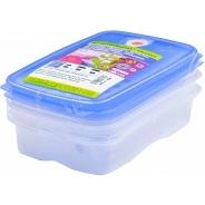 Посуда для СВЧ Juypal Набор контейнеров 0.5л, 1.5л, 2л синий