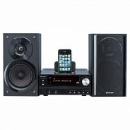 Музыкальный центр Sharp XL-HF201PHBK