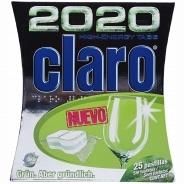 Эко-таблетки Claro High-Energy 2020 для посудомоечных машин