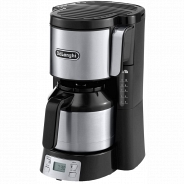 Кофеварка Delonghi ICM 15750 металл