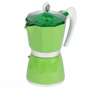 Гейзерная кофеварка G.A.T 103803 BELLA зеленая