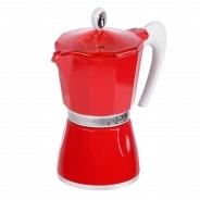Гейзерная кофеварка G.A.T 103806 BELLA красная