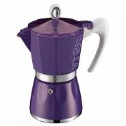 Гейзерная кофеварка G.A.T 103803 BELLA фиолетовый