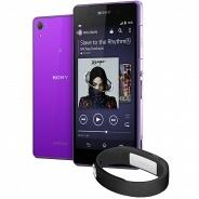 Смартфон Sony Xperia Z2 Purple + браслет SWR10 Black