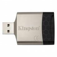 Картридер Kingstone FCR-MLG4 microSDHC/SDHC/SDXC UHS-I USB 3.0