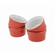 Посуда для выпечки Emile Henry набор ремекинов 4 шт 339840 9 см