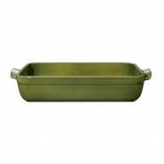 Посуда для запекания Emile Henry лазаньи Natural Chic 879642 оливковый