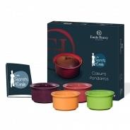 Посуда для выпечки Emile Henry набор для фонданов (шоколадных кексов) 659101