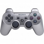 Геймпад Sony PS3 Dualshock Wireless Gray Metallic (CECHZC2R: SCEE)