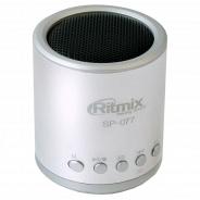 Портативная акустика Ritmix SP-077 silver