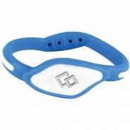 Магнитный браслет Colantotte ACFL31L, синий/белый, L