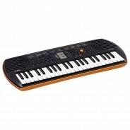 Синтезатор и миди-клавиатура Casio SA-76 + адаптер