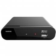 Приемник цифрового телевидения Harper HDT2-1200 DVB-T2