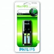 Зарядное устройство Philips Mini MP3 SCB1225 + 2 800 mAh