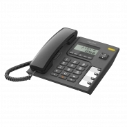 Проводной телефон Alcatel T56 Black