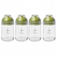 Набор бутылок для масла и специй Glasslock IG-775 Green