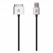 Аксессуар Apple uBear DC02BL01-I4 30pin-USB Data Sync, черный