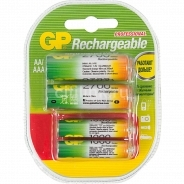Аккумуляторные батарейки GP 270AA/100AAAHCFR