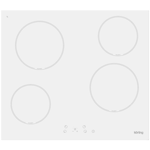 купить Варочная поверхность Korting HK 60001 BW - цена, описание, отзывы - фото 1