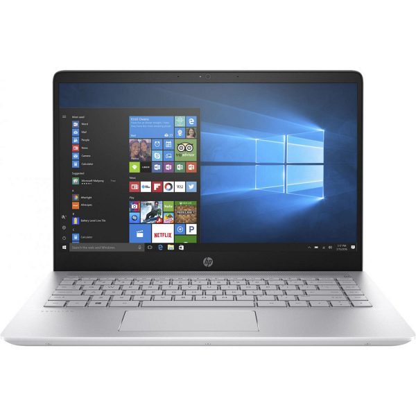 купить Ноутбук HP Pavilion 14-bf017ur Mineral Silver (2GE88EA) - цена, описание, отзывы - фото 1