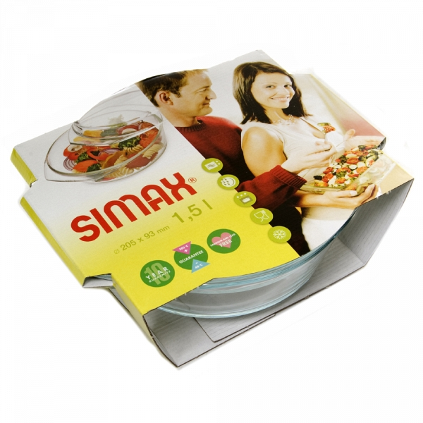 купить Посуда для СВЧ Simax 6106/6116 (1.5л) - цена, описание, отзывы - фото 1