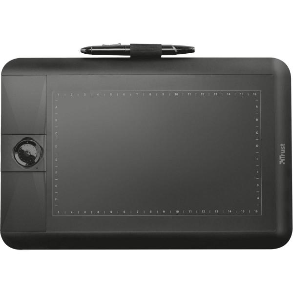 купить Графический планшет Trust Panora Widescreen graphic tablet (21794) - цена, описание, отзывы - фото 1