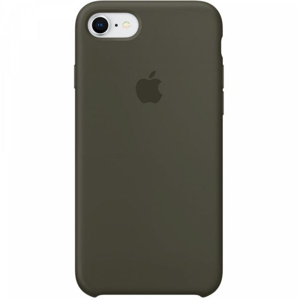 new style d36ad ed7f5 Чехол для смартфона Apple iPhone 7/8 Silicone Case Dark Olive
