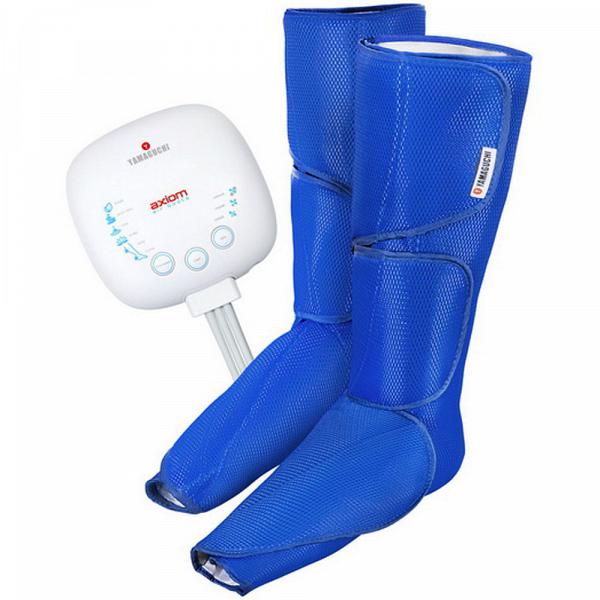 купить Массажер для ног Yamaguchi Axiom Air Boots blue - цена, описание, отзывы - фото 1