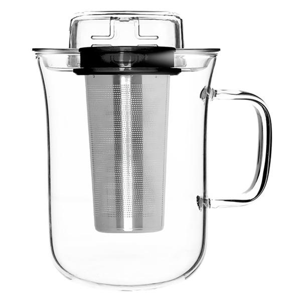 купить Кружка с заварочной емкостью QDO Me Cup 5676509BK - цена, описание, отзывы - фото 1