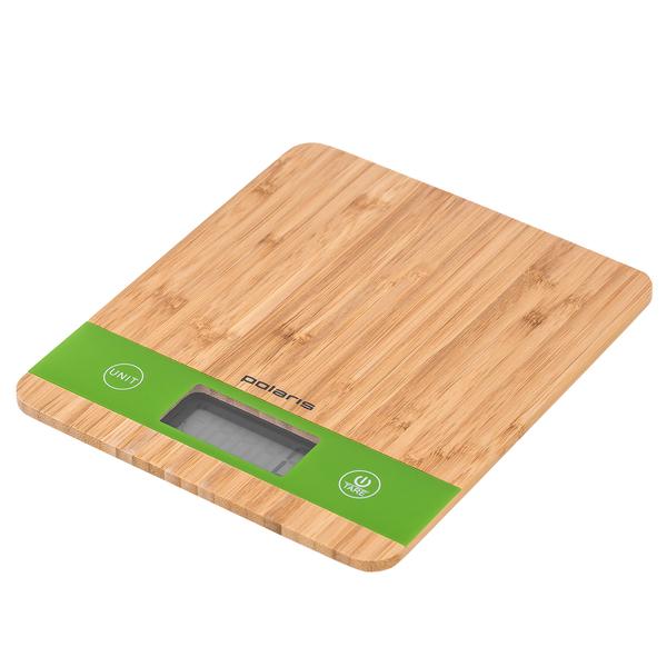 купить Кухонные весы Polaris PKS 0545D Bamboo - цена, описание, отзывы - фото 1