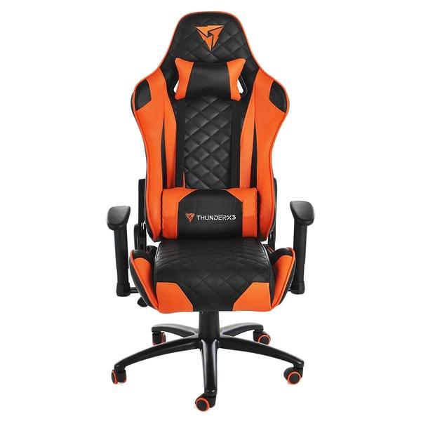 купить  Компьютерное кресло ThunderX3 TGC12-BO Black/Orange - цена, описание, отзывы - фото 1