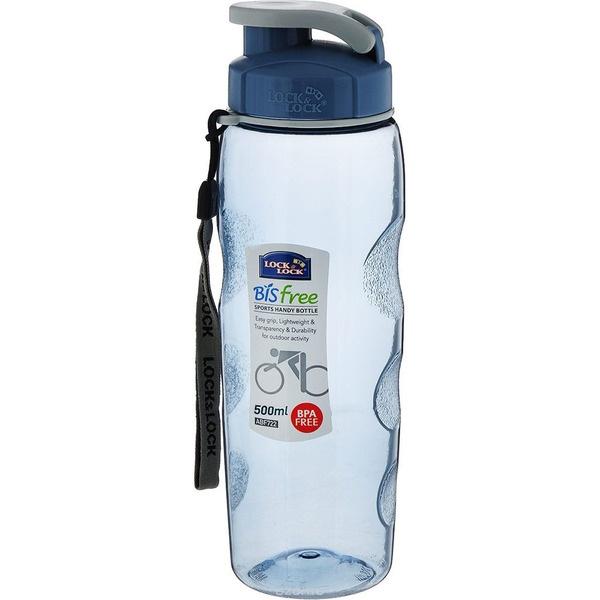 купить Бутылка Lock&Lock Sports ABF721B голубая - цена, описание, отзывы - фото 1
