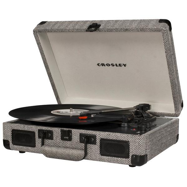 купить Проигрыватель виниловых пластинок Crosley Cruiser Deluxe CR8005D-HB - цена, описание, отзывы - фото 1