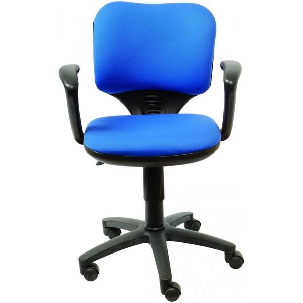 купить  Компьютерное кресло Бюрократ CH-540AXSN-LOW синий - цена, описание, отзывы - фото 1