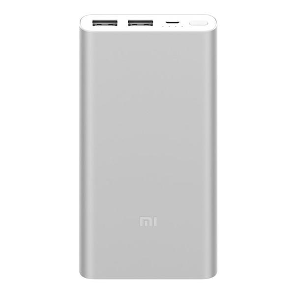 купить Портативный аккумулятор Xiaomi Mi Power Bank 2S 10000 мАч, серебристый - цена, описание, отзывы - фото 1