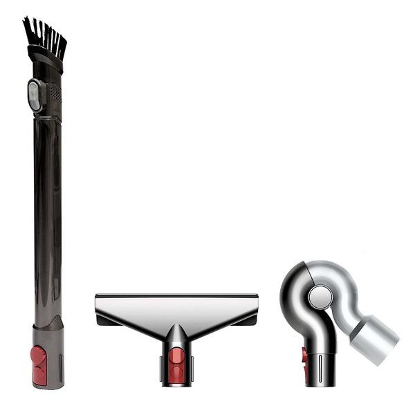 купить Комплект насадок Dyson QR Complete Cleaning Kit Retail для труднодоступных мест - цена, описание, отзывы - фото 1