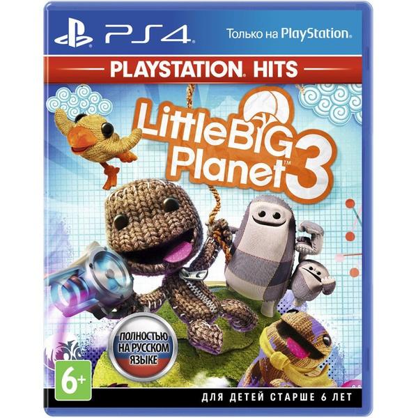 купить LittleBigPlanet 3 PS4 (Хиты PlayStation), русская версия - цена, описание, отзывы - фото 1