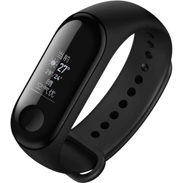 купить Фитнес-браслет Xiaomi Mi Band 3 черный - цена, описание, отзывы - фото 1