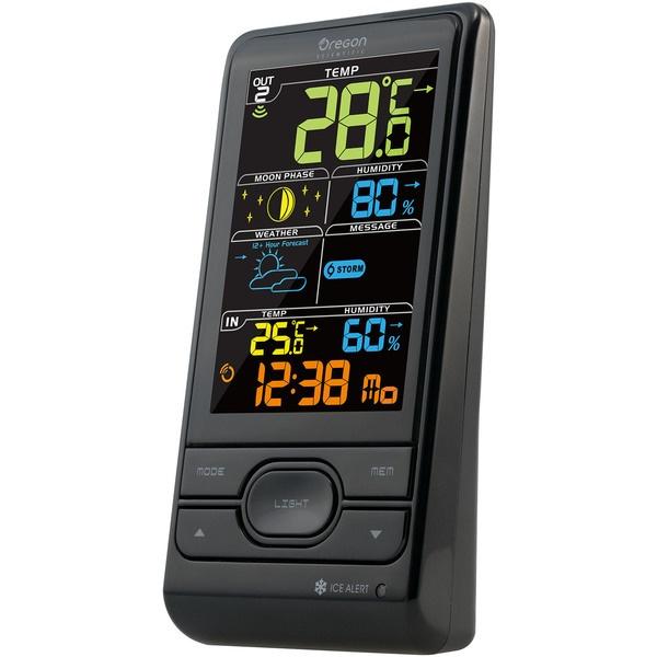 купить Цифровая метеостанция Oregon Scientific BAR 208S-b - цена, описание, отзывы - фото 1
