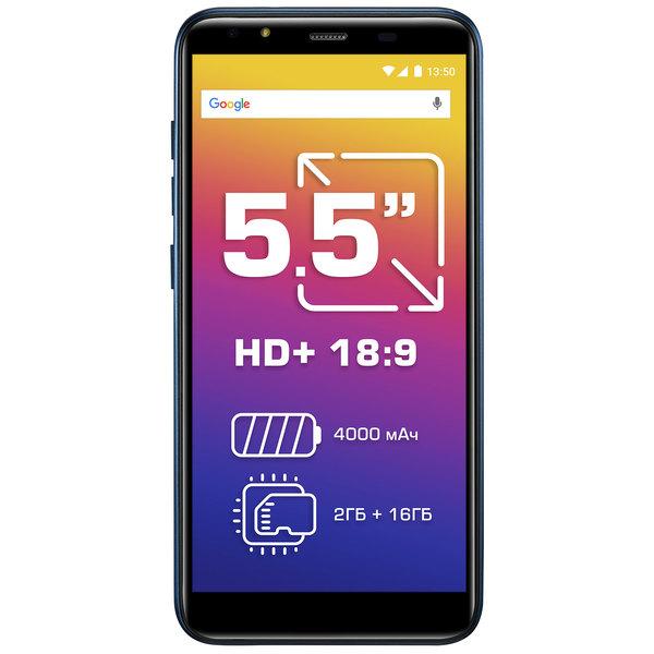 купить Смартфон Prestigio Muze E5 LTE, Blue (PSP5545DUO) - цена, описание, отзывы - фото 1