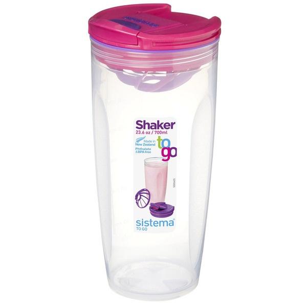 купить Шейкер для напитков Sistema TO-GO 21378R - цена, описание, отзывы - фото 1
