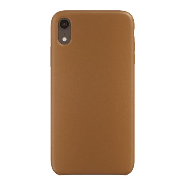 купить Чехол для смартфона uBear Capital Leather Case для Apple iPhone XR, коричневый - цена, описание, отзывы - фото 1