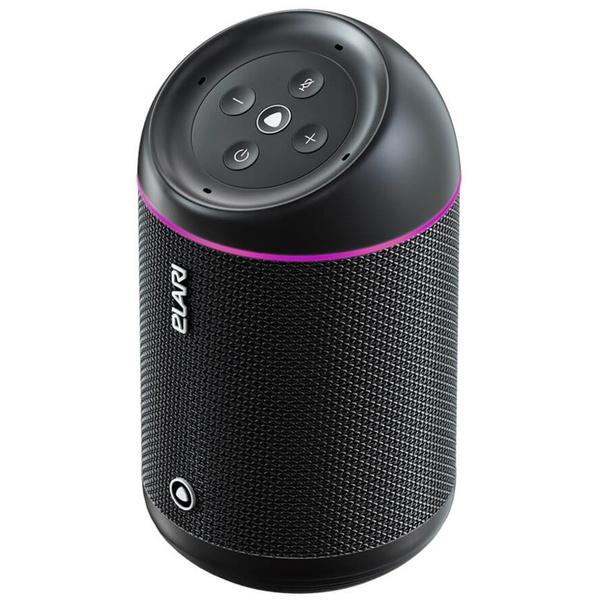 купить Портативная акустика Elari SmartBeat Black (умная колонка с Алисой от Яндекс) - цена, описание, отзывы - фото 1
