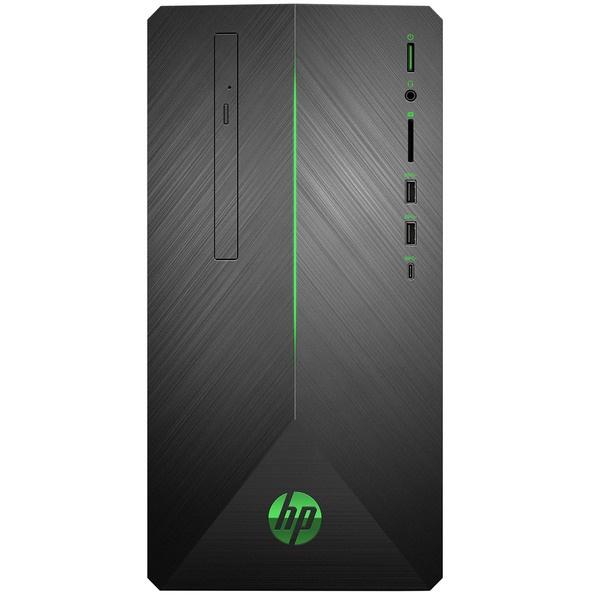 купить Системный блок HP Pavilion Gaming 690-0011ur Black Green 4JU45EA - цена, описание, отзывы - фото 1