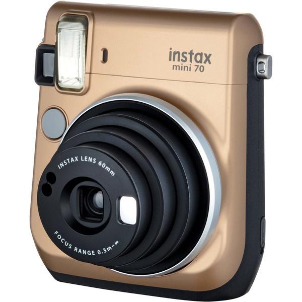 купить Фотоаппарат мгновенной печати Fujifilm Instax Mini 70 Gold EX D - цена, описание, отзывы - фото 1