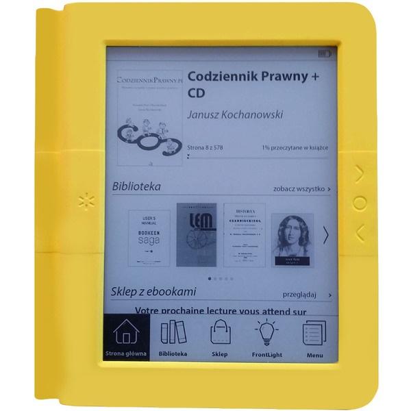купить Электронная книга Bookeen Saga Yellow (CYBSB2F-YW) - цена, описание, отзывы - фото 1