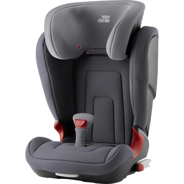 купить Детское автокресло Britax Roemer Kidfix 2 R Storm Grey Trendline - цена, описание, отзывы - фото 1